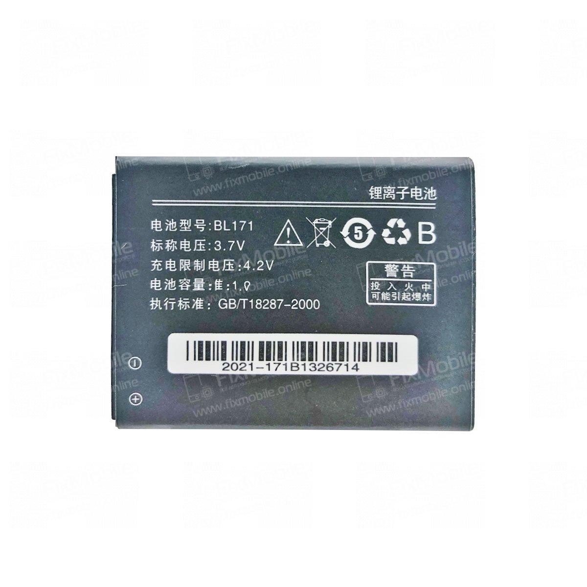 Аккумуляторная батарея для Lenovo A319 BL171