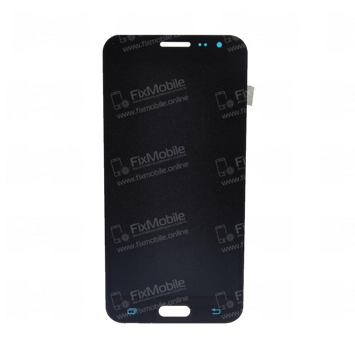 Дисплей с тачскрином для Samsung Galaxy J3 (2016) J320F (черный) TFT