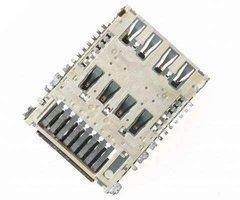 Коннектор SIM+MMC для LG G3s (D724) — 2